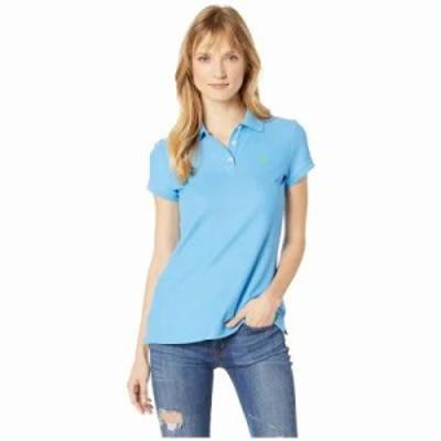 ユーエスポロアッスン ポロシャツ Ultimate Polo Coast Azure