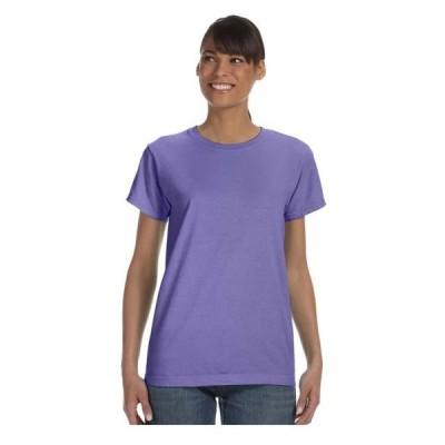 レディース 衣類 トップス Comfort Colors Women's Soft Double Needle T-Shirt Style 3333 Tシャツ