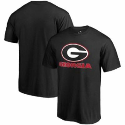 Fanatics Branded ファナティクス ブランド スポーツ用品  Fanatics Branded Georgia Bulldogs Black Team Lockup T-Shirt