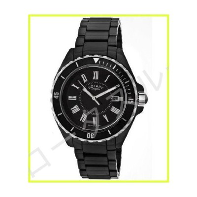 Rotary Catkill6 Men's Black Dial Black Ceramic Watch 並行輸入品