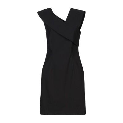 リビアナ コンティ LIVIANA CONTI ミニワンピース&ドレス ブラック 42 レーヨン 71% / ナイロン 25% / ポリウレタン 4
