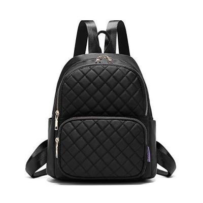 Backpack for Women, Fashion Backpack Multipurpose Design Handbags and Shoulder Bag Travel Backpack Purse Black【並行輸入品】