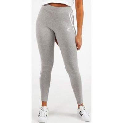 アディダス adidas Originals レディース スパッツ・レギンス インナー・下着 3 Stripe High Waist Legging Grey Heather