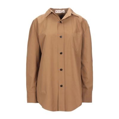マルニ MARNI シャツ ブラウン 38 コットン 100% シャツ