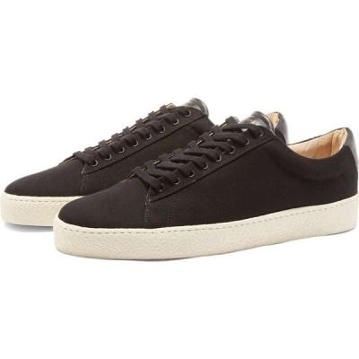 ゼスパ Zespa メンズ スニーカー シューズ・靴 ZSP4 Canvas Sneaker Black