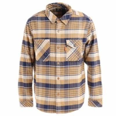 クリフメイヤー(KRIFF MAYER)ヘビーネルワークシャツ 2113400-20 BEIGE(Men's)
