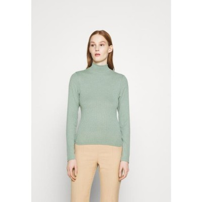 コットンオン レディース ファッション MILA MOCK NECK LONG SLEEVE - Long sleeved top - mountain sage marle