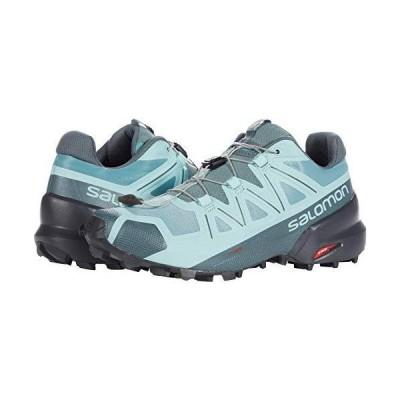 Salomon Womens Speedcross 5 W Trail Running Shoe, TrellisStormy WeatherP