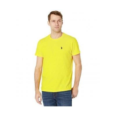 U.S. POLO ASSN. USポロ メンズ 男性用 ファッション Tシャツ Crew Neck Small Pony T-Shirt - Sailing Yellow
