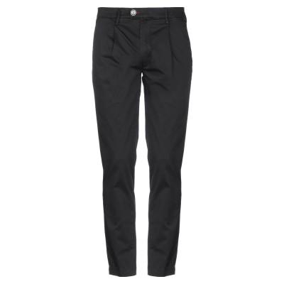 BARONIO パンツ ブラック 40 コットン 97% / ポリウレタン 3% パンツ