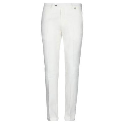 パオローニ PAOLONI パンツ ホワイト 54 リネン 100% パンツ