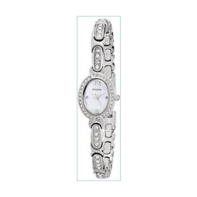 Bulova Women's  96L199 Swarovski Crystal  Stainless Steel Watch並行輸入品