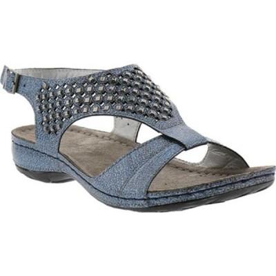 フレクサス サンダル シューズ レディース Invictus Slingback Sandal (Women's) Blue Synthetic