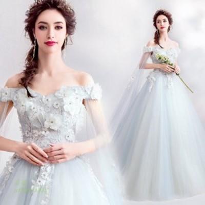 ウエディングドレス カラー ピアノ演奏会 袖あり パーティードレス 安い 花嫁ドレス 大きいサイズ イブニングドレス 発表会 ロングドレス