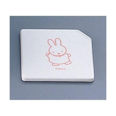 関東プラスチック メラミンお子様用弁当シリーズ ミッフィー MAN-040P1 隅切 RSM2001