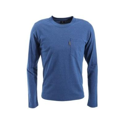 【3点購入5%OFFクーポン!5/8〜5/10】リンプロジェクト(rin project) ワシドライロングTシャツ 2159 NAVY (メンズ)
