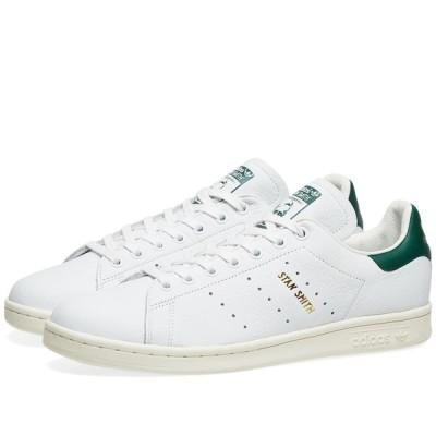 アディダス Adidas メンズ スニーカー シューズ・靴 Stan Smith White/Collegiate Green