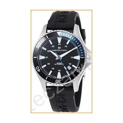 Hamilton H82315331 Khaki Navy Scuba Men's Watch Black 40mm Stainless Steel並行輸入品