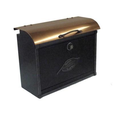 オンリーワン 郵便ポスト コパリッドポスト NL1-P20 ダイヤル錠付き 上入れ前出しタイプ