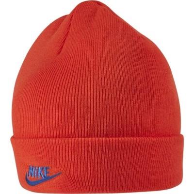 ナイキ Nike メンズ ニット ビーニー 帽子 cuffed utility beanie Team Orange