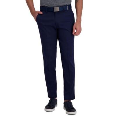 ハガー メンズ カジュアルパンツ ボトムス Cool Right Performance Flex Slim Fit Flat Front Pant