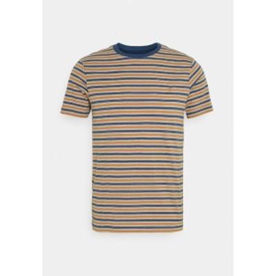 ファーラー メンズ Tシャツ トップス ALGINET TEE - Print T-shirt - cold metal cold metal