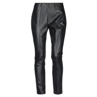CORTE dei GONZAGA パンツ ブラック 46 ポリエチレン 100% / レーヨン / ナイロン / ポリウレタン パンツ