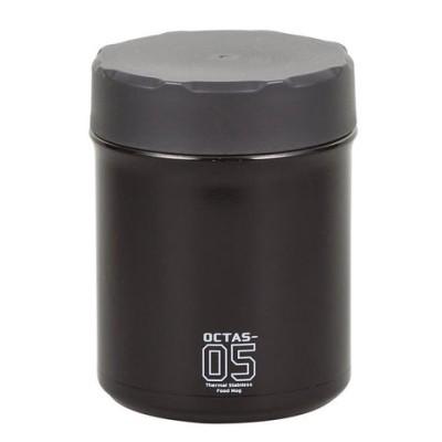 パール金属 オクタス フードマグ 500mL グレー HB-3773  弁当箱 水筒[▲][AB]