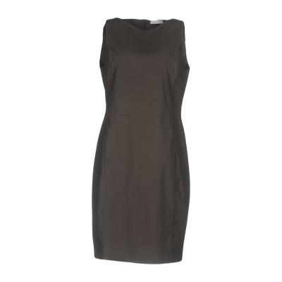 ファビアナフィリッピ FABIANA FILIPPI ミニワンピース&ドレス 鉛色 38 シルク 95% / ポリウレタン 5% ミニワンピース&ド