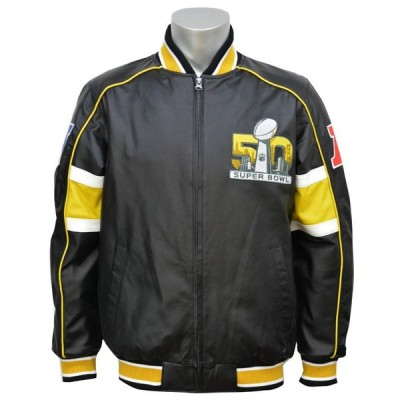 NFL スタジアムジャンパー スーパーボウル50周年記念 ブリッツ ジャケット G-III/ジースリー【OCSL】
