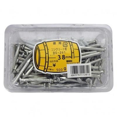 和気産業 徳用コンクリート釘 サイズ:9X38mm BS-261