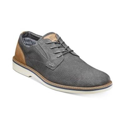 ノンブッシュ メンズ ドレスシューズ シューズ Men's Barklay Plain-Toe Lace-Up Oxfords Gray