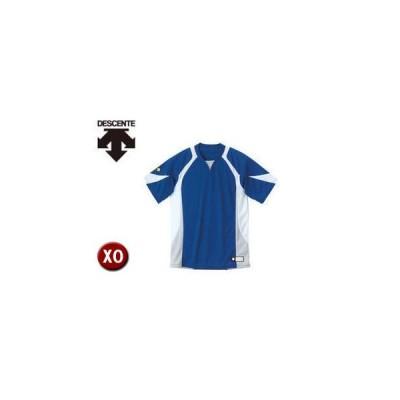DESCENTE/デサント  DB113-RYWH セカンダリーシャツ 【XO】 (ロイヤル×ホワイト×シルバー)