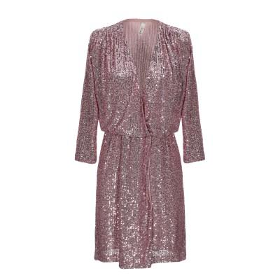 スーベニア SOUVENIR ミニワンピース&ドレス ピンク S ポリエステル 100% ミニワンピース&ドレス