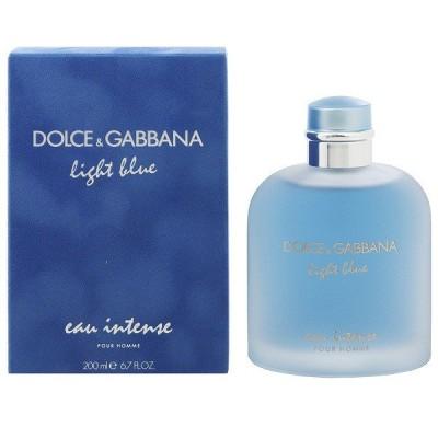 ドルチェ&ガッバーナ DOLCE&GABBANA ライトブルー オー インテンス プールオム EDP・SP 200ml 香水 フレグランス LIGHT BLUE EAU INTENSE POUR HOMME