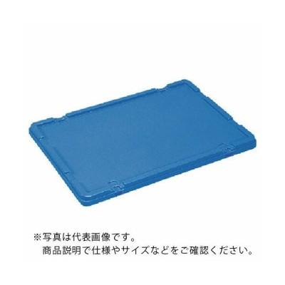 サンコー ボックス型コンテナー サンボックス#56フタ 青 (SK56FF  B) 三甲(株) (メーカー取寄)