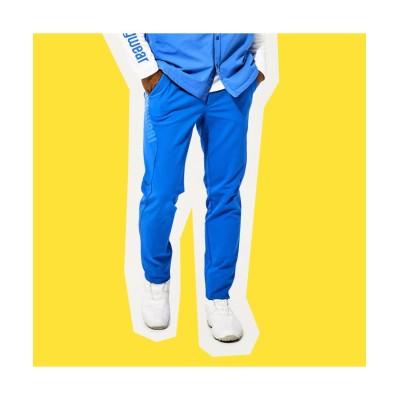 【マンシングウェア】 スクエア裏起毛カッティングストレッチパンツ メンズ ブルー系 82 Munsingwear