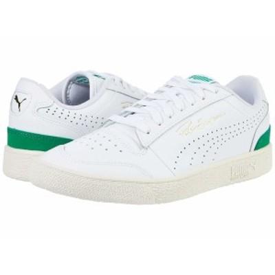 プーマ メンズ スニーカー シューズ Ralph Sampson Lo Perf Puma White/Amazon Green/Whisper White