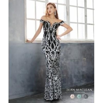 JEANMACLEAN ドレス ジャンマクレーン キャバドレス ナイトドレス ロングドレス jean maclean 全3色 9号 M 11号 L 91857 クラブ スナッ