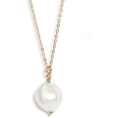 セットアンドストーンズ SET & STONES レディース ネックレス ケシパール ジュエリー・アクセサリー Adelle Keshi Pearl Necklace Gold/Pearl