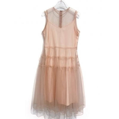 tulle tiered one-piece (pink)