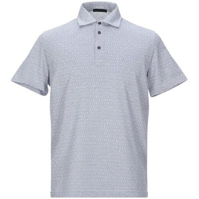 アレッサンドロデラクア ALESSANDRO DELL'ACQUA ポロシャツ グレー S コットン 100% ポロシャツ