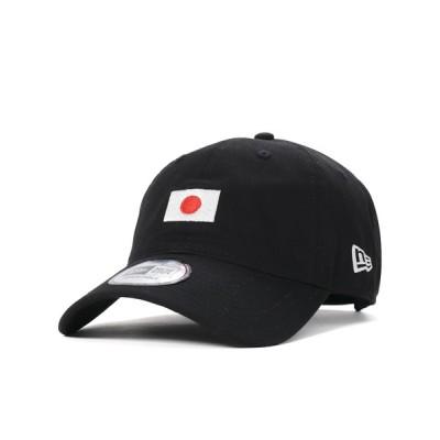 帽子屋ONSPOTZ / ニューエラ キャップ 9THIRTY NATIONAL FLAG ブラック NEW ERA 帽子 WOMEN 帽子 > キャップ