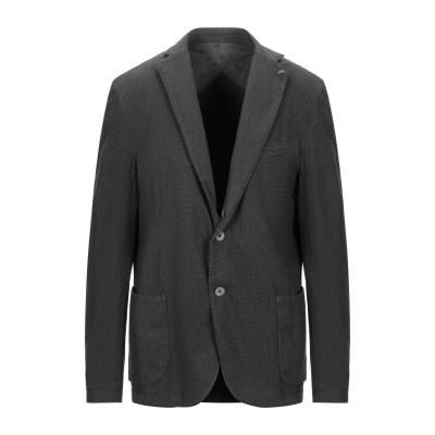 BARBATI テーラードジャケット グレー 46 コットン 75% / ポリエステル 23% / ポリウレタン 2% テーラードジャケット