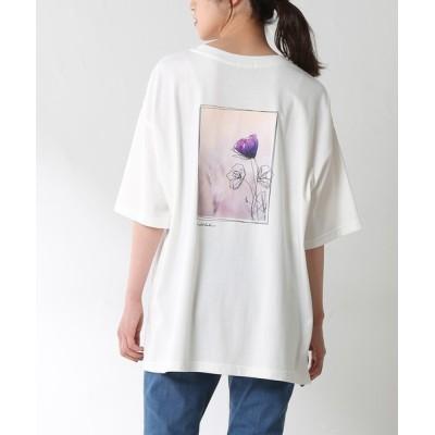 Honeys / イラストプリントTシャツ WOMEN トップス > Tシャツ/カットソー