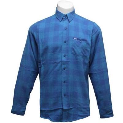 ユニセックス 衣類 アパレル K1X Hacksaw Jim Flanell Shirt (cyan / true blue)