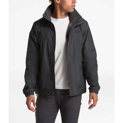 ノースフェイス メンズ ジャケット・ブルゾン アウター The North Face Men's Resolve 2 Jacket Asphalt Grey / TNF Black