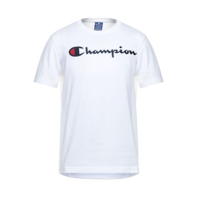 チャンピオン CHAMPION T シャツ ホワイト L コットン 100% T シャツ