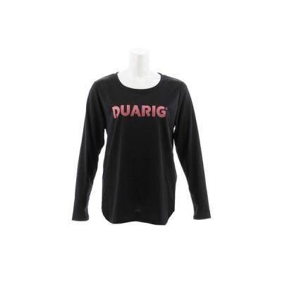 デュアリグ(DUARIG) Tシャツ レディース 長袖 ドライプラス メッシュ 864D8CD2832 BLK オンライン価格 (レディース)