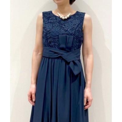 ドレス 【KATHARINE ROSS】結婚式 レースドッキングドレス